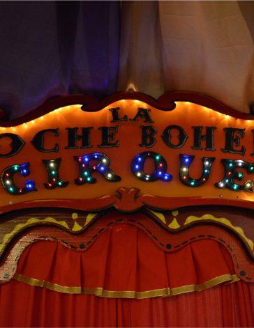 """La Boheme - Diseño de Escenografías """"Noche Boheme Cirque"""" - Arquitecto Cristobal Cravero"""