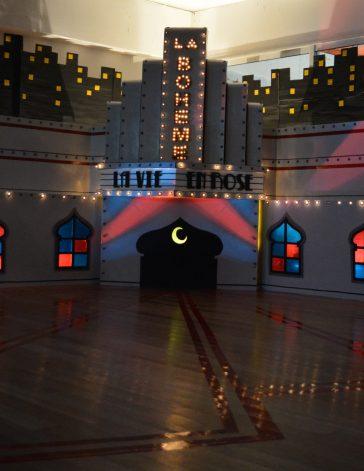 La Boheme - Escenografía Noche Boheme Burlesque - Arquitecto Cristobal Cravero