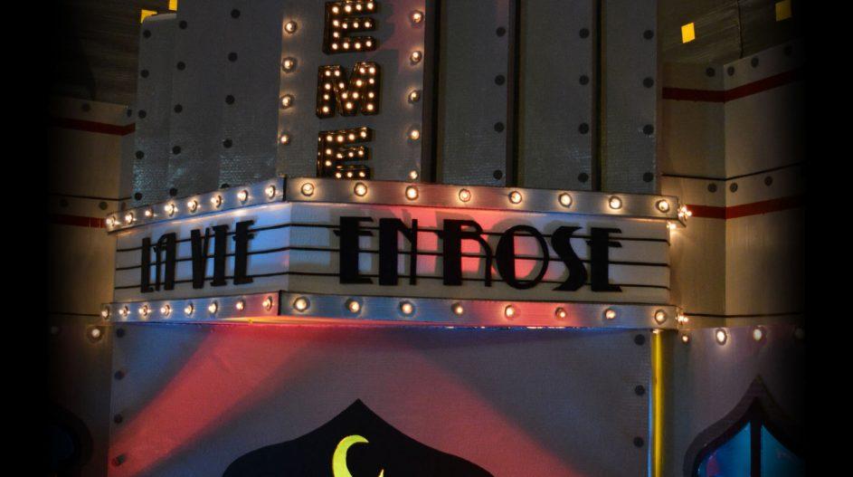 "La Boheme - Diseño de Escenografía ""Noche Boheme Burlesque"" - Arquitecto Cristobal Cravero"