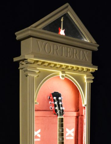 Vorterix Vitrina para Guitarra - Caratula