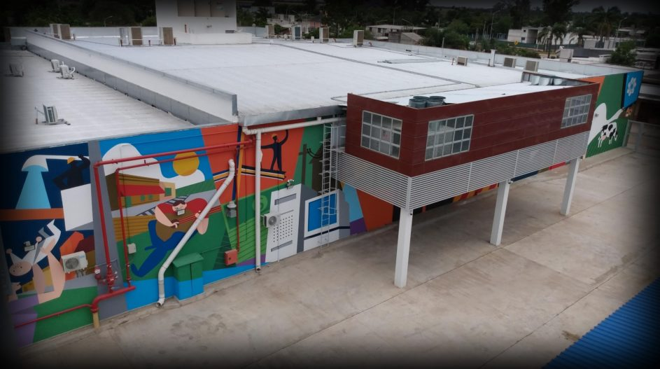 Mural Cooperativa Tio Pujio 1