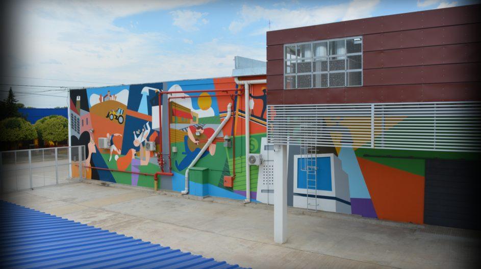 Mural Cooperativa Tio Pujio 3