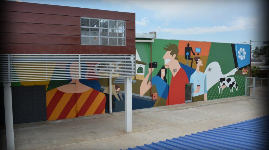 Mural Cooperativa Tio Pujio 4