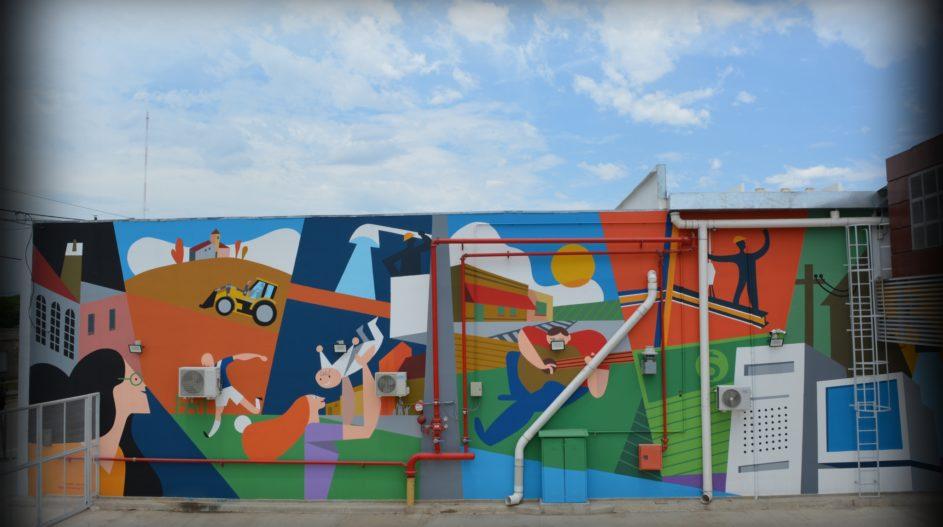 Mural Cooperativa Tio Pujio 5