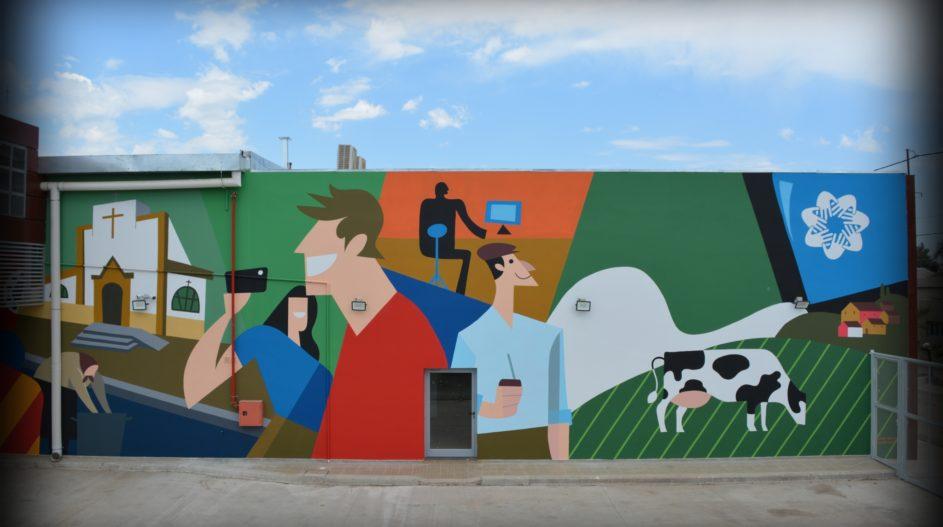 Mural Cooperativa Tio Pujio 6